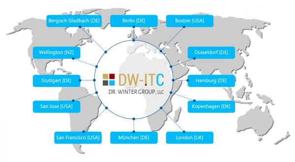 Weltkarte DWITC
